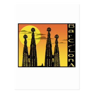 Cartão de Barcelona