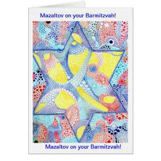 Cartão de Barmitzvah