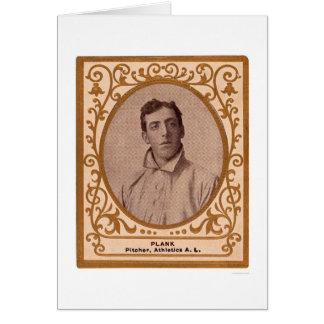 Cartão de basebol 1909 da prancha de Eddie