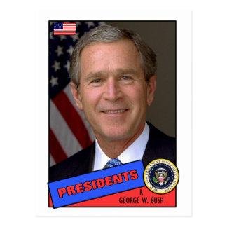 Cartão de basebol de George W. Bush