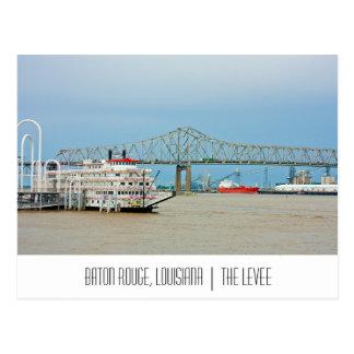 Cartão de Baton Rouge Louisiana