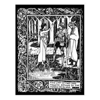 Cartão de Beardsley Excalibur