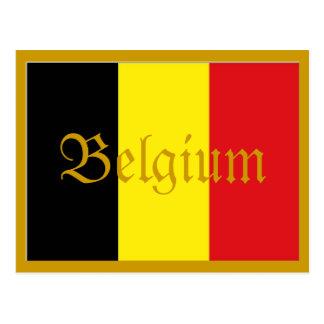 Cartão de Bélgica