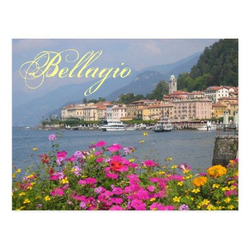 Cartão de Bellagio Cartoes Postais