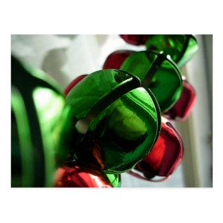 Cartão de Bels de tinir do Natal