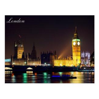 Cartão de ben grande do rio de Londres