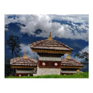 Cartão de Bhutan