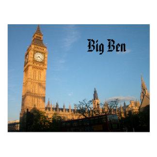 Cartão de Big Ben