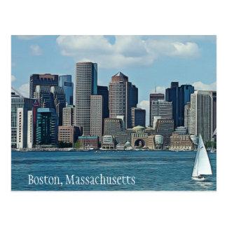 Cartão de Boston, Massachusetts