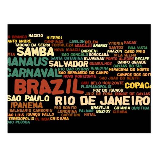 Cartão de BRASIL Cartões Postais