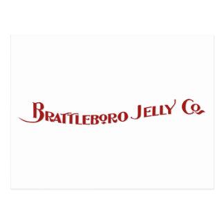 Cartão de Brattleboro Geléia Empresa