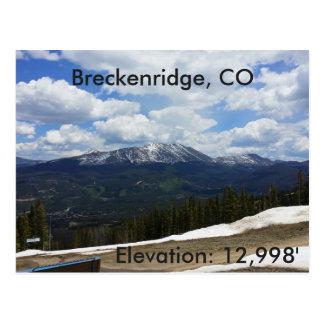 Cartão de Breckenridge, Colorado