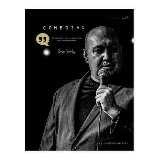 Cartão de Brian T Shirley