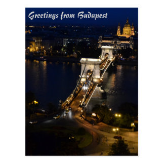 Cartão de Budapest