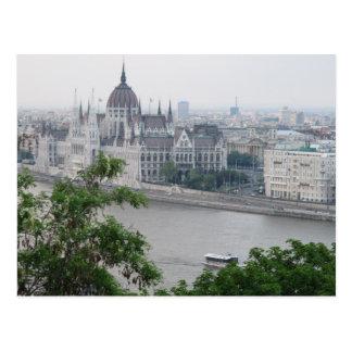 Cartão de Budapest Hungria