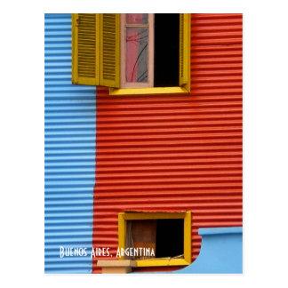 Cartão de Buenos Aires Argentina