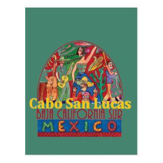 Cartão de CABO SAN LUCAS México