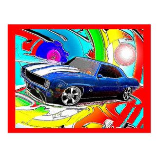 Cartão de Camaro