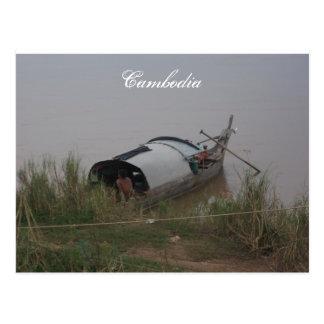Cartão de Cambodia