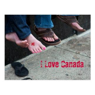 Cartão de Canadá