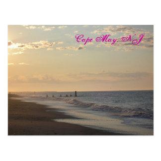 Cartão de Cape May Lowtide