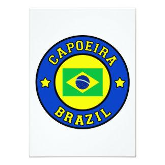 Cartão de Capoeira Convite 12.7 X 17.78cm