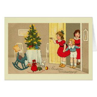 """Cartão De """"cartão de Natal Herzlichen Weihnachtsgruss"""""""