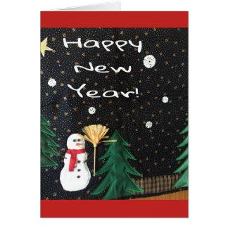 Cartão de cartões de natal
