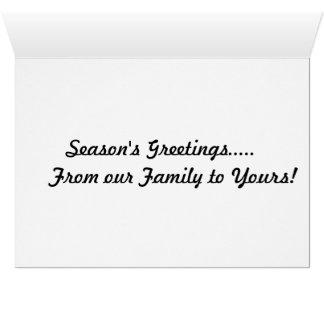 Cartão de cartões de natal do cupcake do boneco de