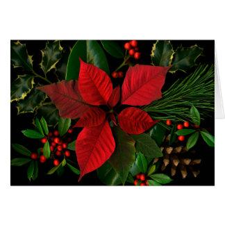 Cartão de cartões de natal do Natal