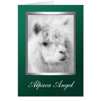 Cartão de cartões de natal do Natal do verde do