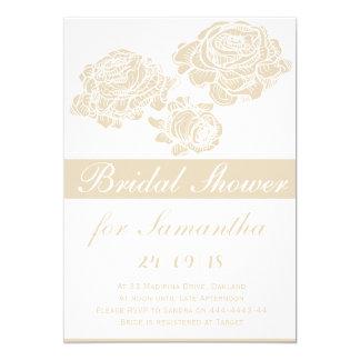 Cartão de casamento cor-de-rosa elegante do