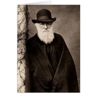 Cartão de Charles Darwin