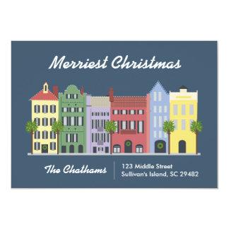 Cartão de Charleston South Carolina da fileira do Convite 12.7 X 17.78cm