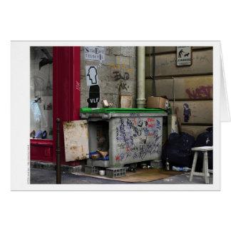 Cartão de CHEZ RAYMOND - arte do realismo de
