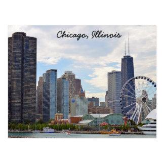 Cartão de Chicago, Illinois