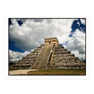 Cartão de Chichén Itzá