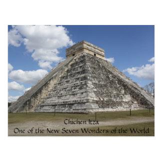 Cartão de Chichen Itza México