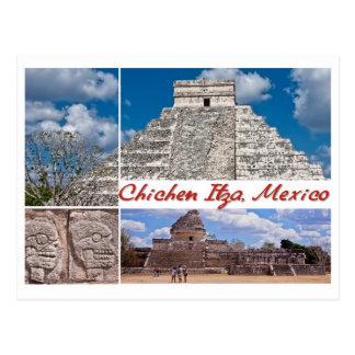 Cartão de Chichen Itza, México