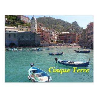 Cartão de Cinque Terre