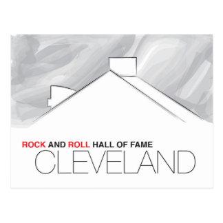 Cartão de Cleveland do corredor da fama do rock