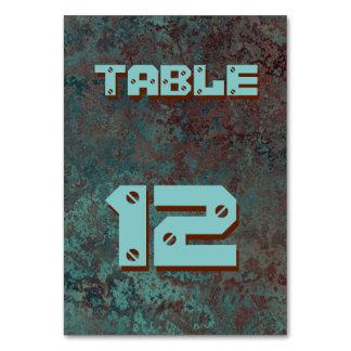 """Cartão """"de cobre"""" da mesa do impressão da corrosão"""