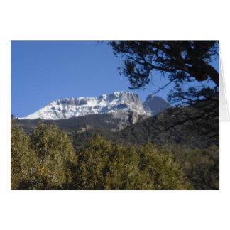 Cartão de Colorado da montanha de Crestone