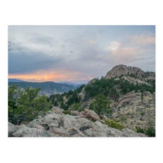 Cartão de Colorado da rocha de Horsetooth