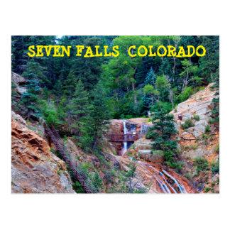 CARTÃO de Colorado de sete quedas