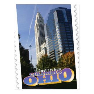 Cartão de Columbo, Ohio