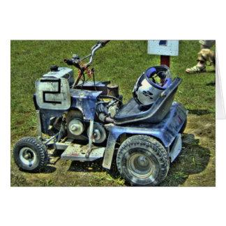 Cartão de competência #3 do Lawnmower - vazio