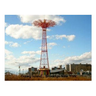 Cartão de Coney Island