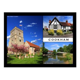Cartão de Cookham Cartão Postal