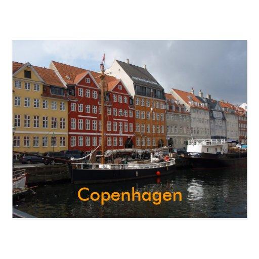 Cartão de Copenhaga Cartao Postal